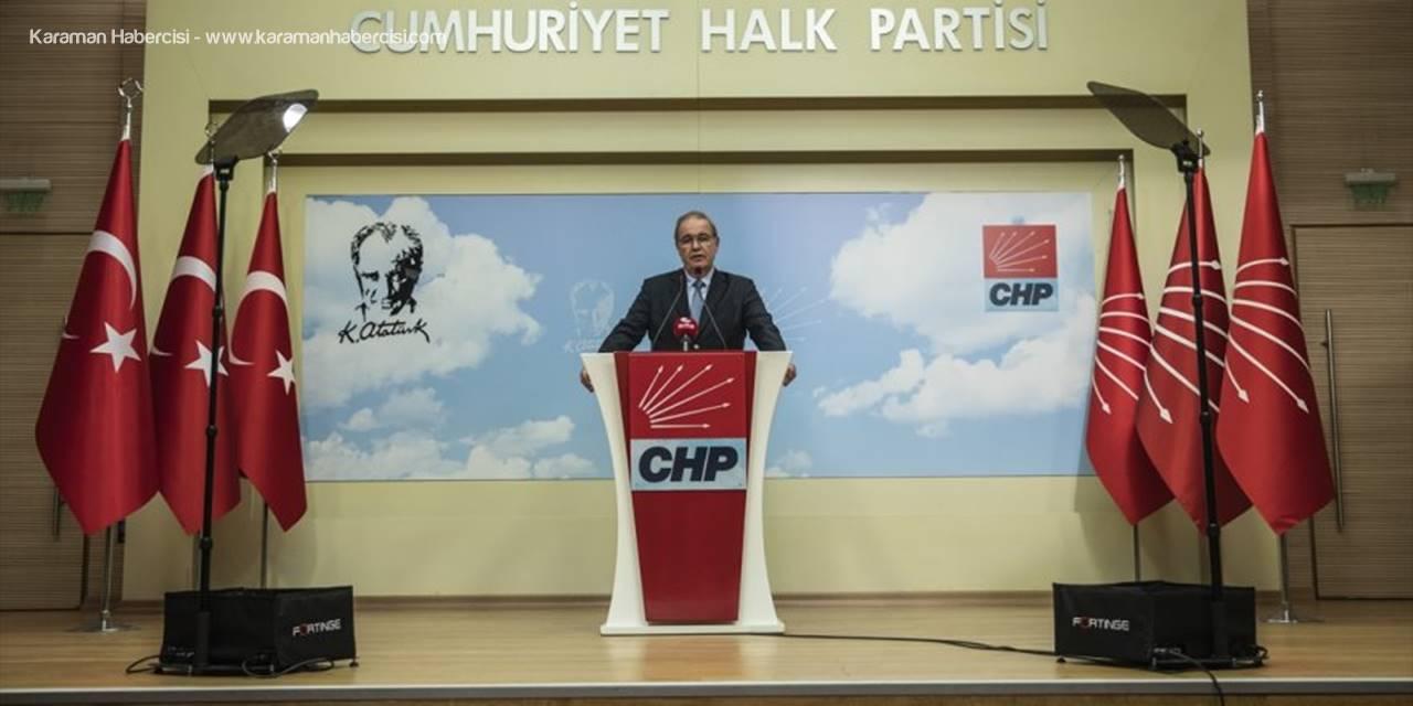 Chp Sözcüsü Öztrak, Yerel Mahkemenin Enis Berberoğlu İle İlgili Kararını Değerlendirdi: