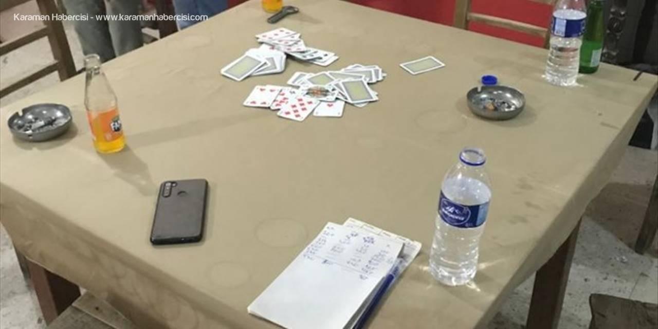 Mersin'de Kahvehanedeki 18 Kişi Ve İşletmeciye Kovid-19 Tedbirlerini İhlalden Ceza