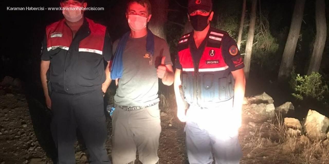 Antalya'da Ormanlık Alanda Kaybolan Ukraynalı Turist Kurtarıldı