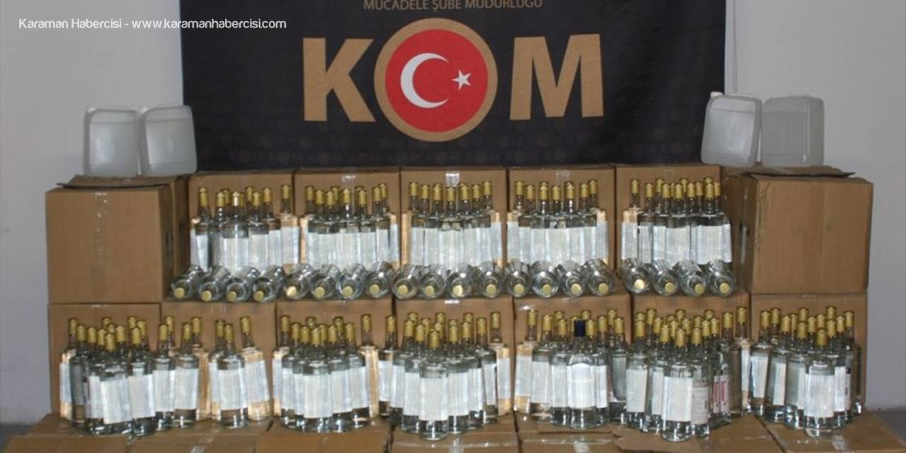 Eskişehir'de 979 Litre Etil Alkol Ele Geçirildi