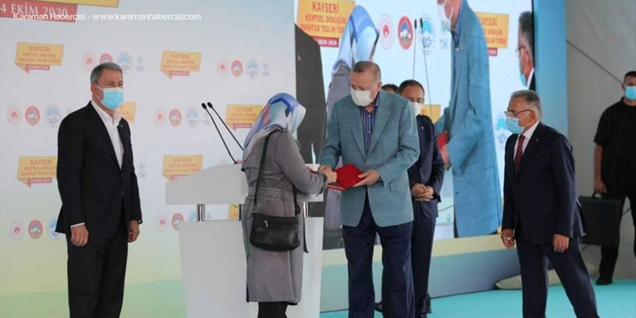 Kocasinan'da Kentsel Dönüşüm Projelerinde Anahtar Teslimleri Yapıldı