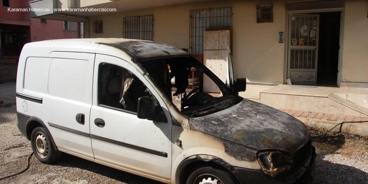 Antalya'da Depoda Çıkan Yangın Hasara Yol Açtı