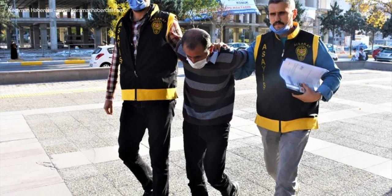 Aksaray'da Karısını Tabancayla Yaralayan Koca Tutuklandı