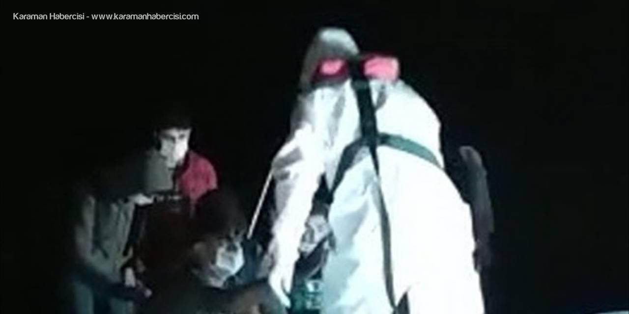 Mersin Açıklarında 22 Düzensiz Göçmen Yakalandı