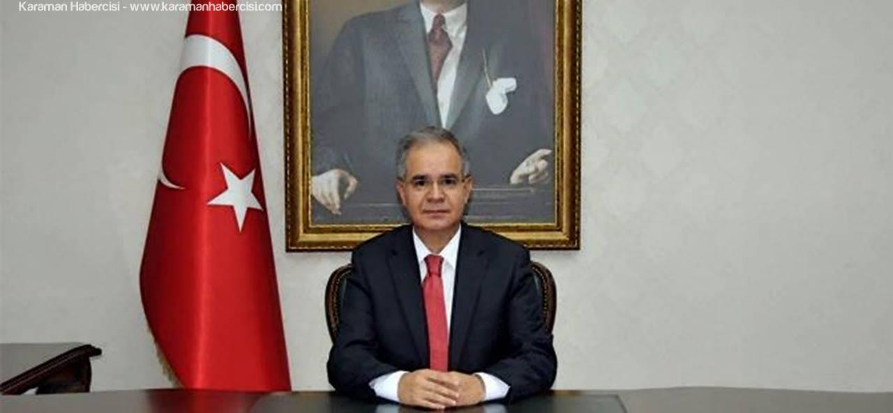 Karaman Valisi Süleyman Tapsız, Merkeze Çekildi