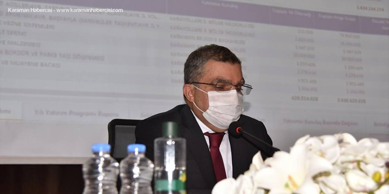 Karaman'da Koordinasyon Kurulu Toplantısı Yapıldı