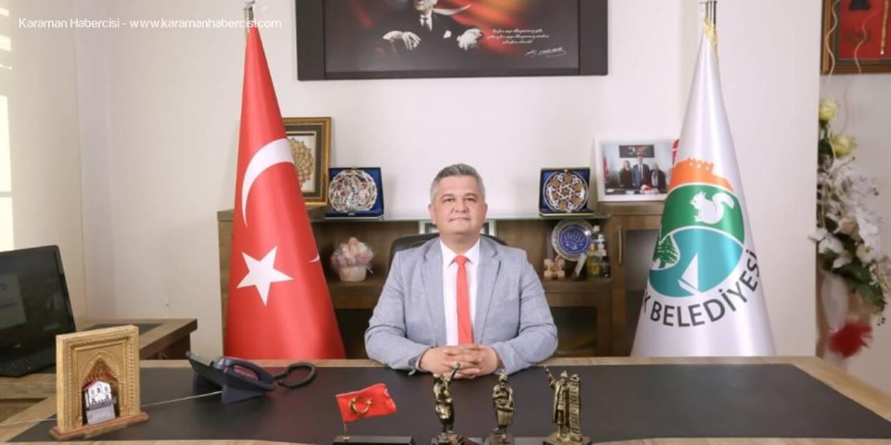 Ermenek Belediye Başkanı Atila Zorlu'nun Mevlid Kandili Mesajı