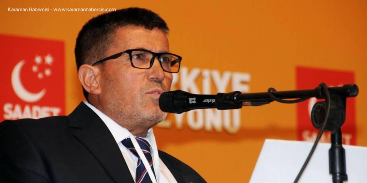 Saadet Partisinde Orhan Soydan Adaylığını Açıkladı