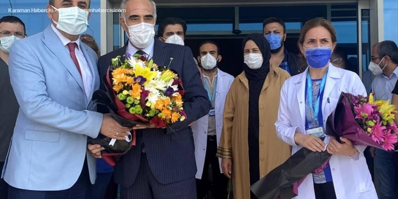 Kovid-19 Tedavisi Tamamlanan CHP Şanlıurfa Milletvekili Aydınlık Hastaneden Taburcu Edildi
