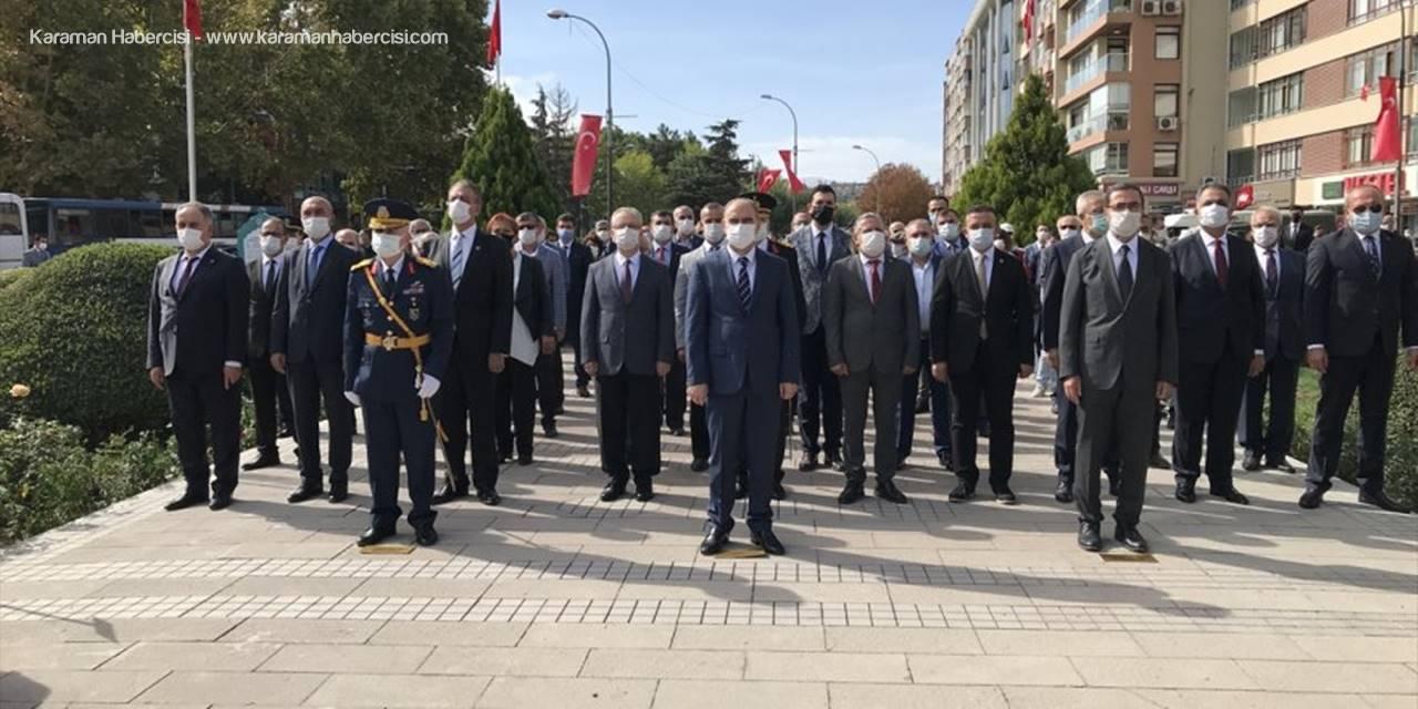 konya'da 29 Ekim Cumhuriyet Bayramı Kutlanıyor