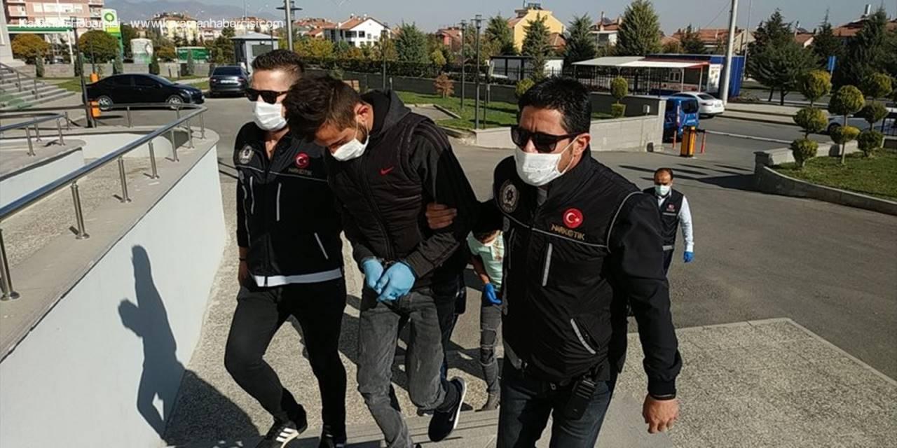 Karaman'da Uyuşturucu Operasyonunda Yakalanan 3 Zanlıdan Biri Zanlı Tutuklandı