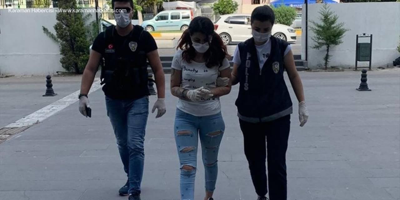 Antalya'da İç Çamaşırında Uyuşturucu Ve Hassas Terazi Bulunan Şüpheli Tutuklandı