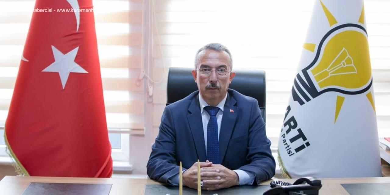 AK Parti Karaman Merkez İlçe Başkanı Feyzullah Tunç'un Mevlid Kandili Mesajı