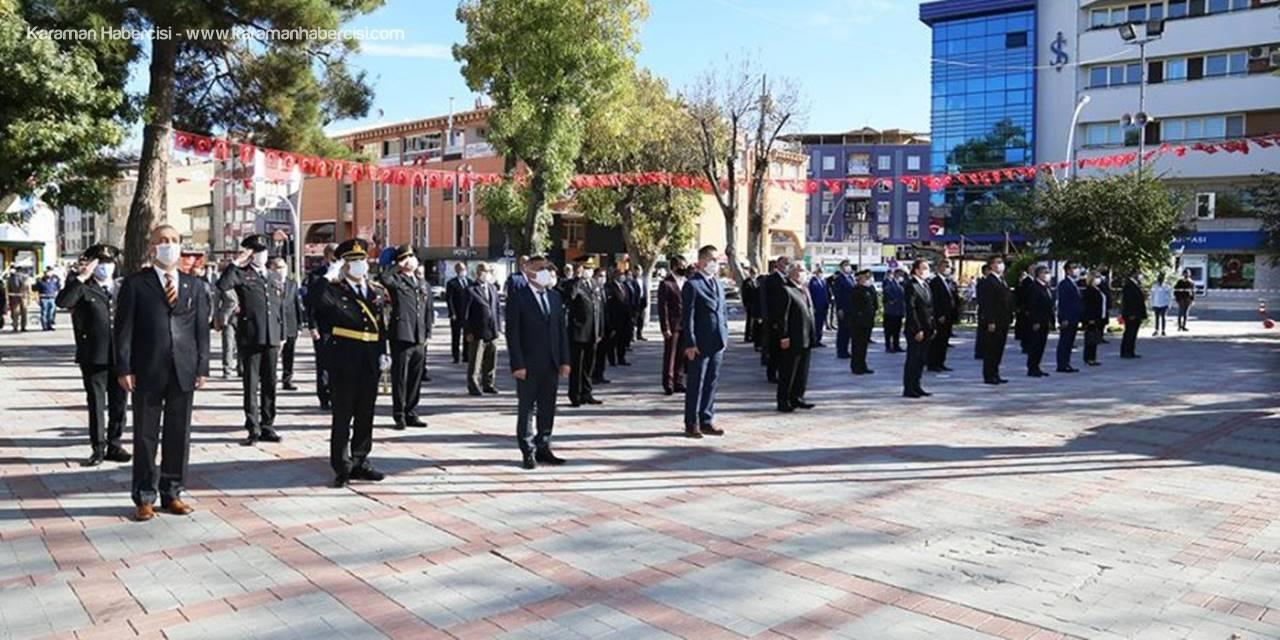 Karaman'da 29 Ekim Kutlaması Yapıldı
