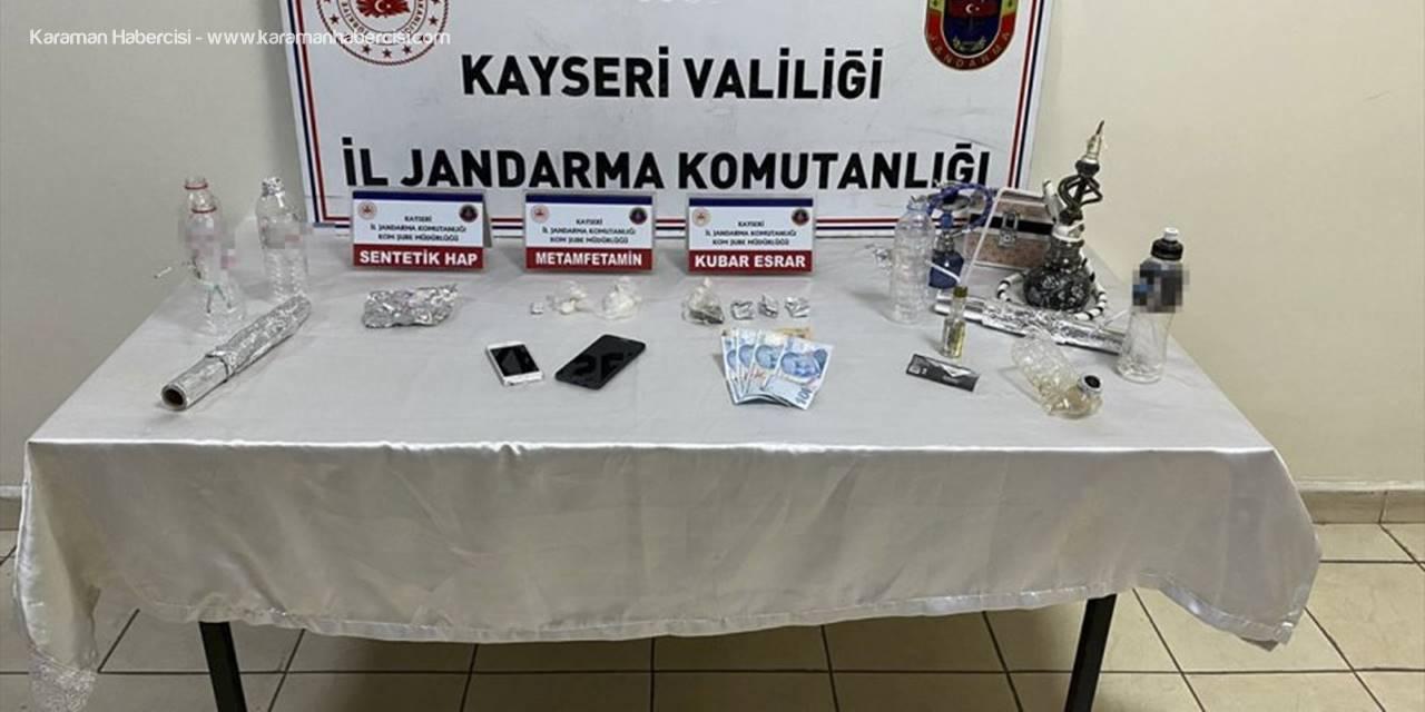 Kayseri'de Uyuşturucu Operasyonunda Komşu 2 Şüpheli Yakalandı