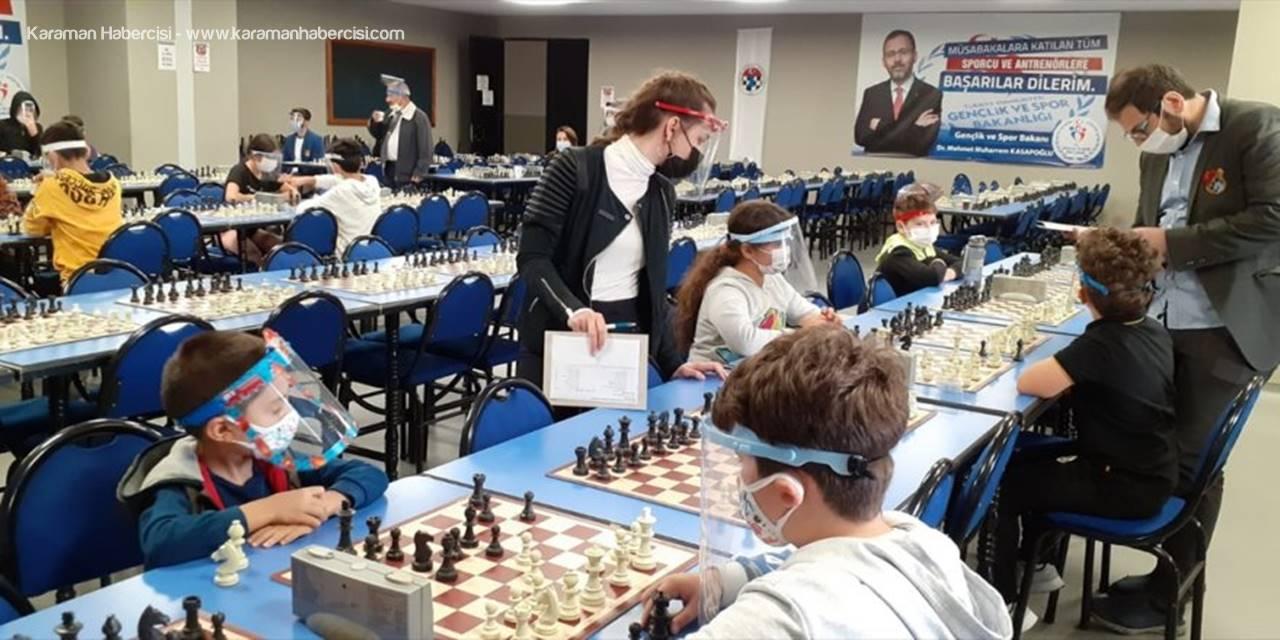 Konya'da Satranç Turnuvası Yapıldı