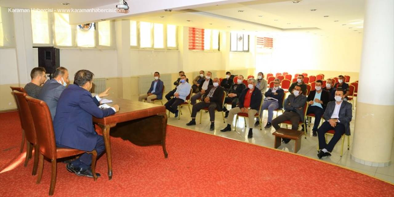 Hadim'de AK Parti Mahalle Başkanları Toplandı