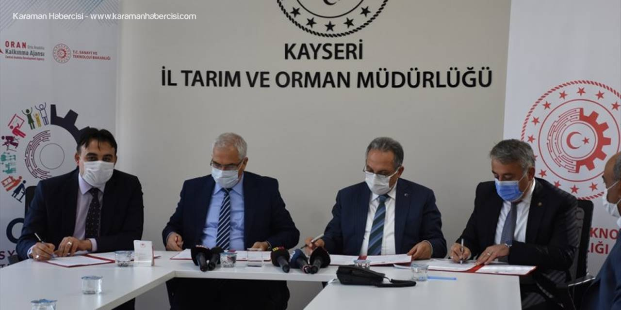 """Kayseri'de """"Tarım Anneleri Ev'leniyor Projesi"""""""