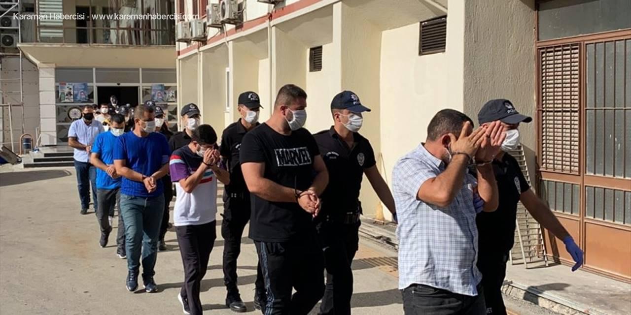 Mersin'de Yasa Dışı Bahis Operasyonunda 9 Kişi Tutuklandı