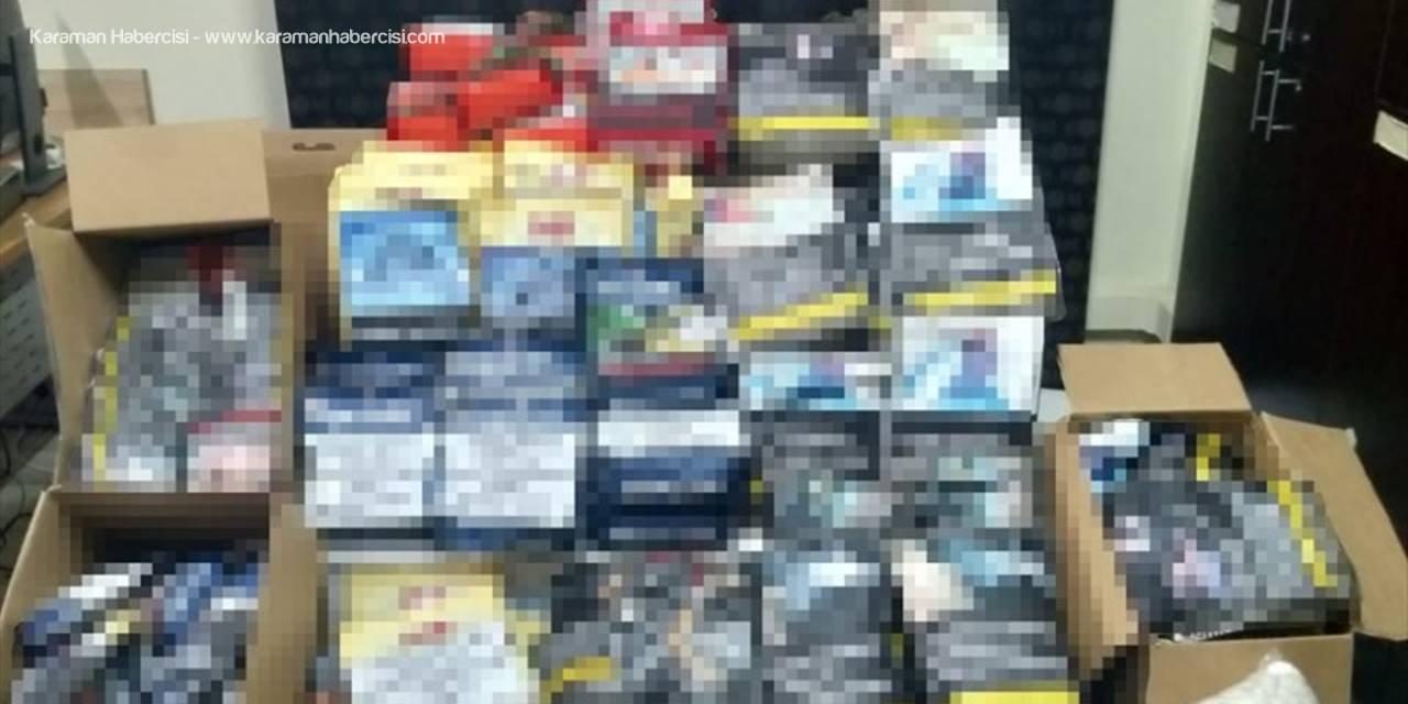 Mersin'de 113 Kilo 200 Gram Kaçak Tütün Ele Geçirildi: 2 Gözaltı