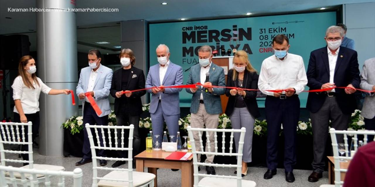 İmob Mersin Mobilya Fuarı Açıldı