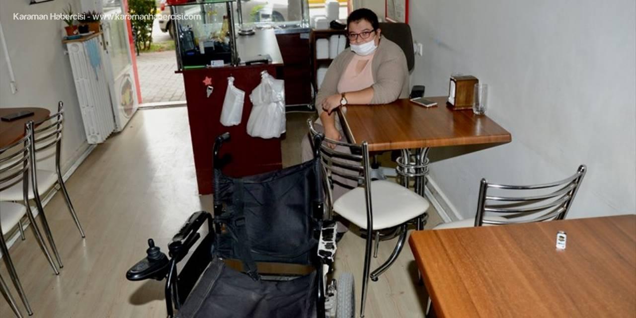 Eskişehir'de Engelli Kadının Tekerlekli Sandalyesinin Şarj Aleti Çalındı