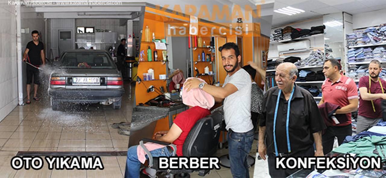 Karaman'da Vatandaşların ve Araçlarının Bayram Hazırlıkları
