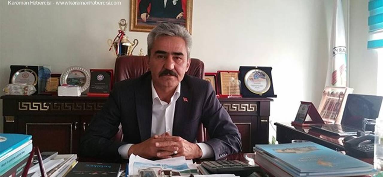 Ayrancı Başkanı Büyükkarcı'nın Ramazan Bayramı Mesajı
