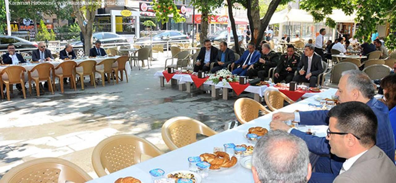 Karaman'da Valilik Bayramlaşması