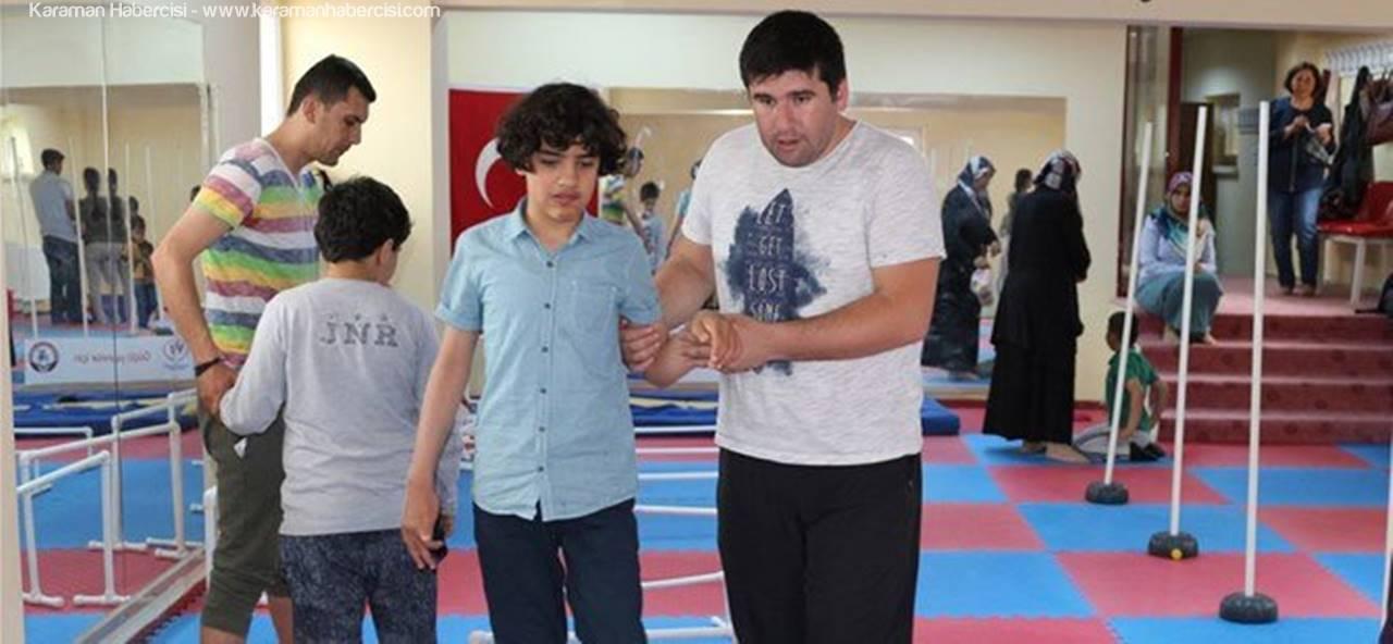 Karaman'da Otizmli Çocuklar Sporla Hayata Bağlanıyor
