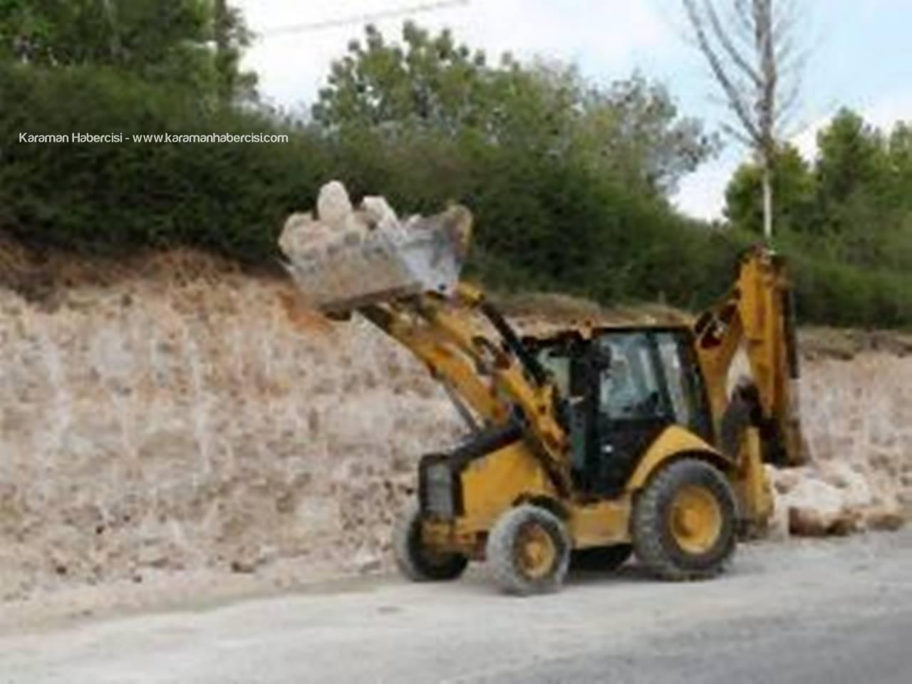 Karaman'da Üst Geçit Çalışmaları Başladı
