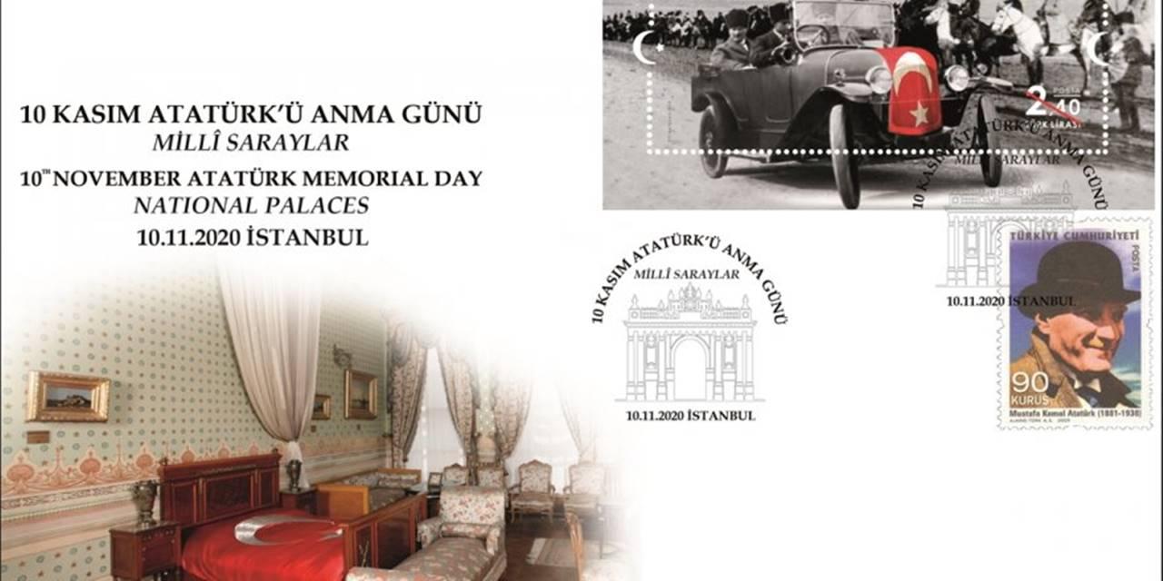 PTT'den 10 Kasım Atatürk'ü Anma Günü İçin Özel Gün Zarfı