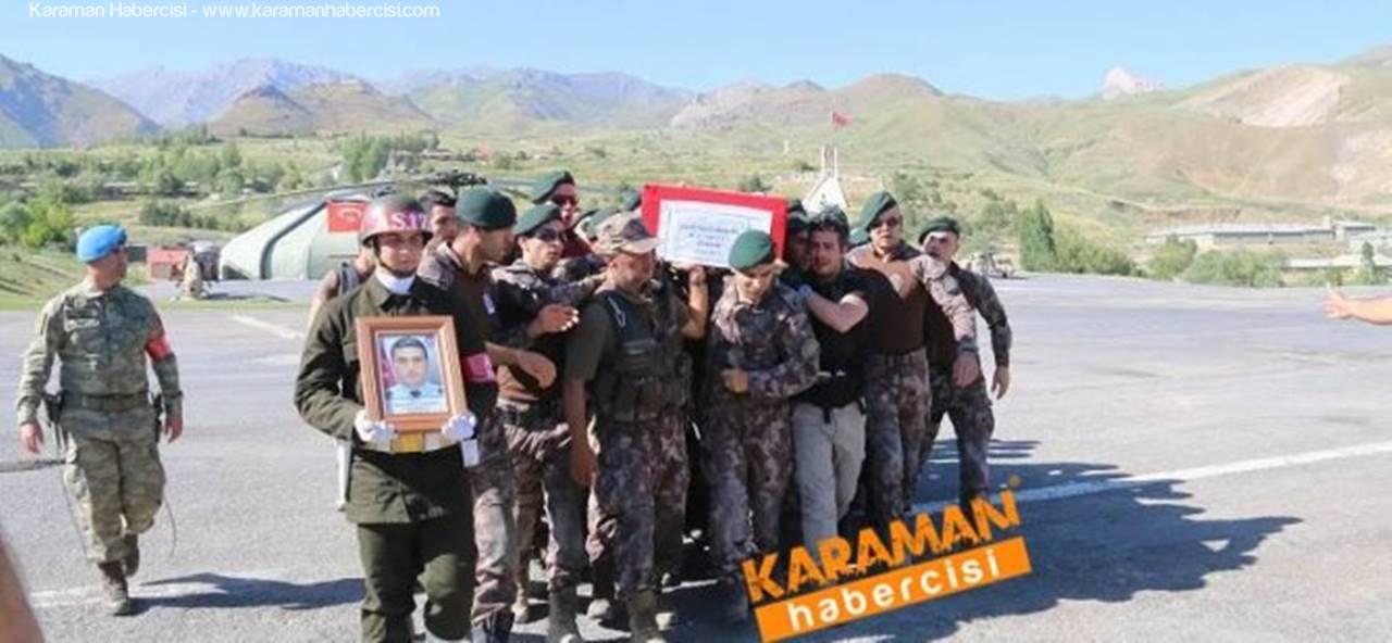 Şehit Polis Mevlüt Dündar İçin Hakkari'de Son Görev