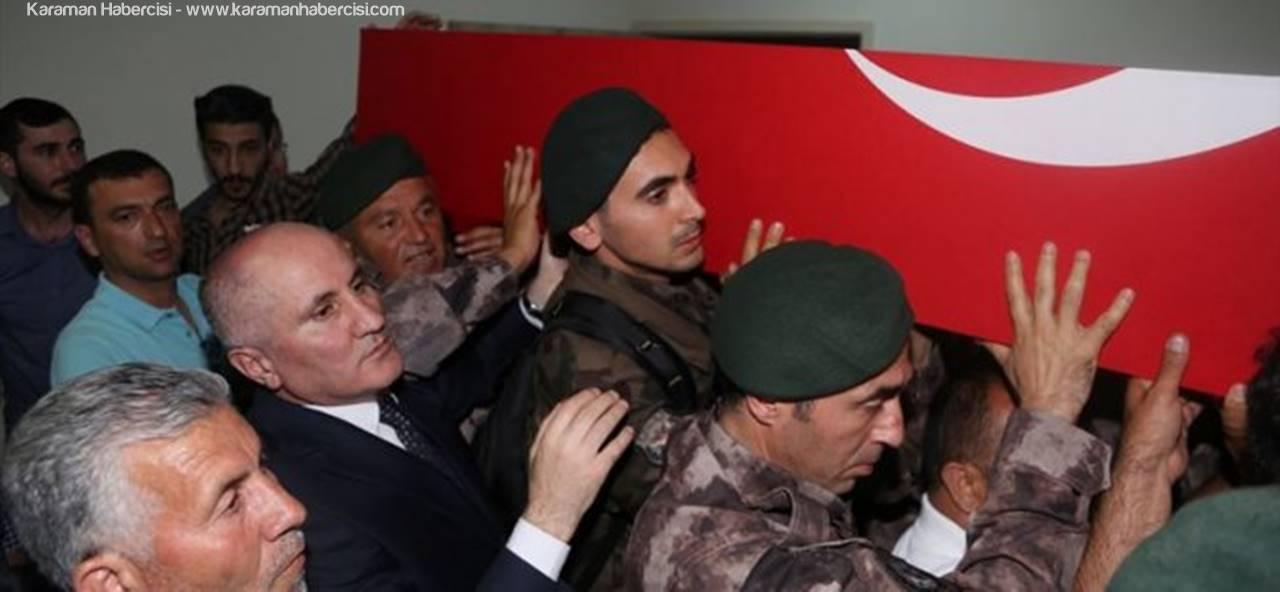 Şehit Polis Mevlüt Dündar Baba Ocağı Karaman'da