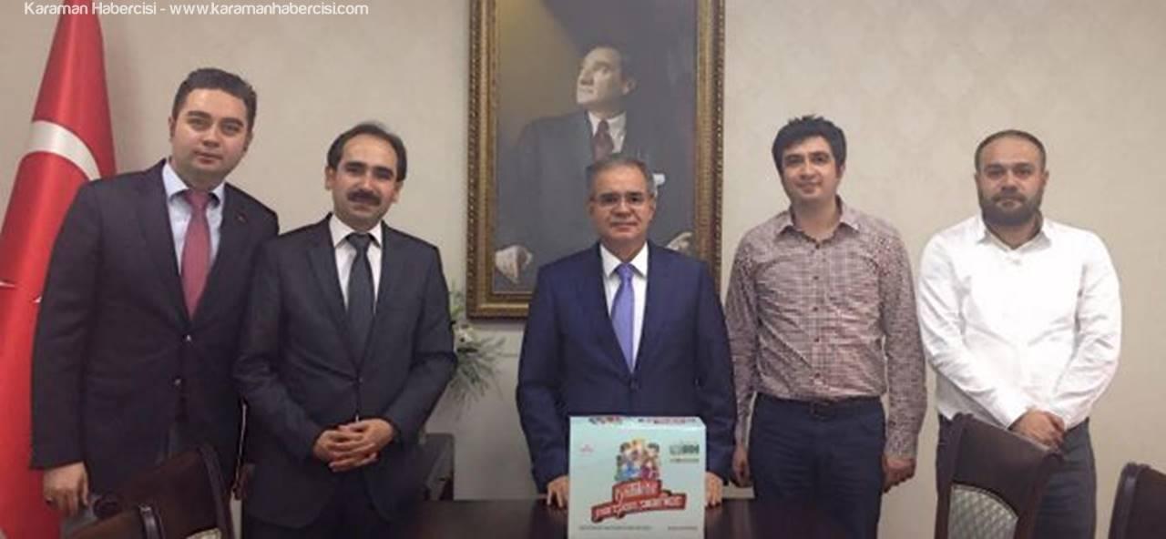 İHH İnsani Yardım Derneğinden Vali Tapsız'a Ziyaret