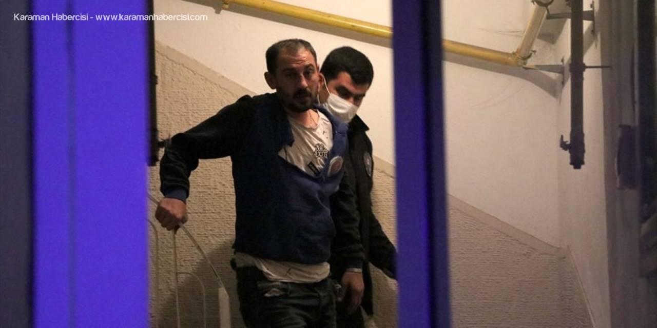 Kayseri'de İşten Dönen Ev Sahibi Evindeki Hırsızı Yakaladı