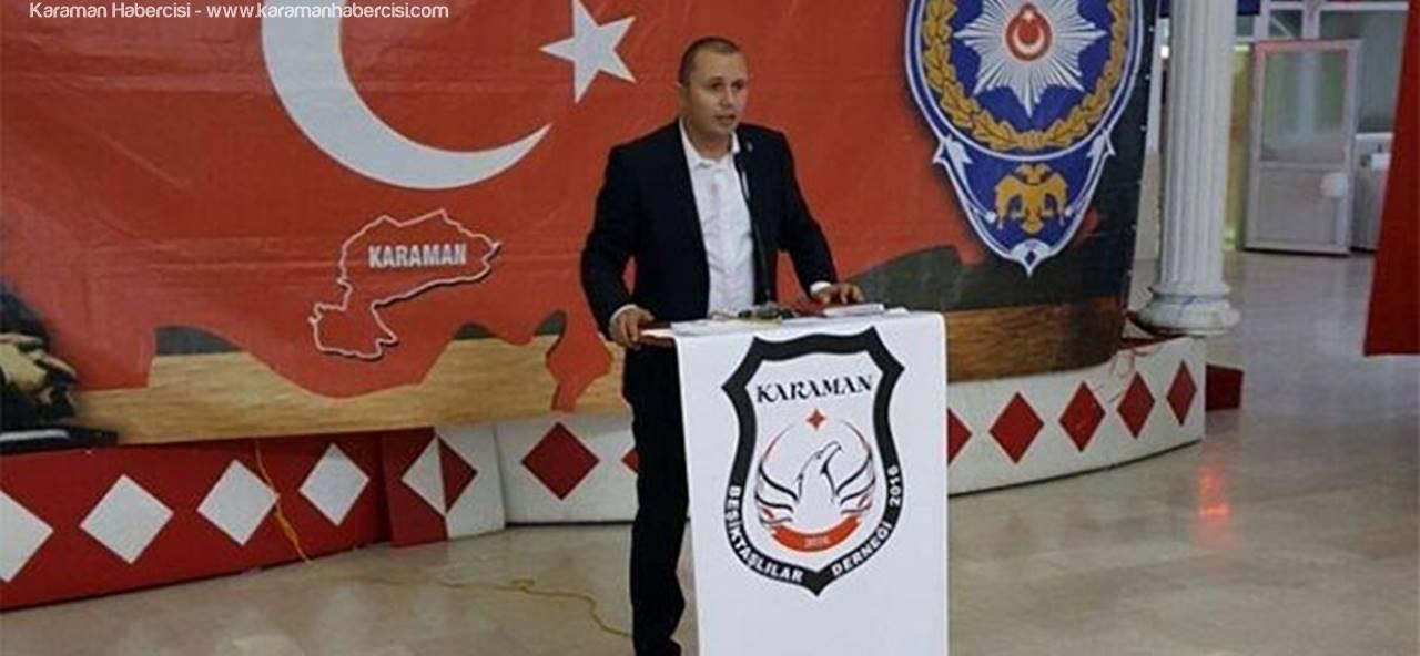 Karaman Beşiktaşlılar Derneği Kutlamaları İptal Etti