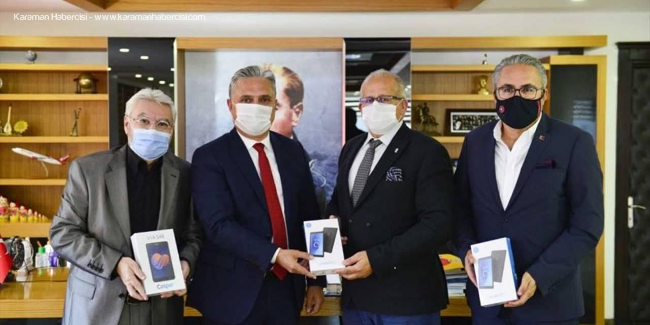 Muratpaşa Belediyesinin İmece Tablet Kampanyasına Destek