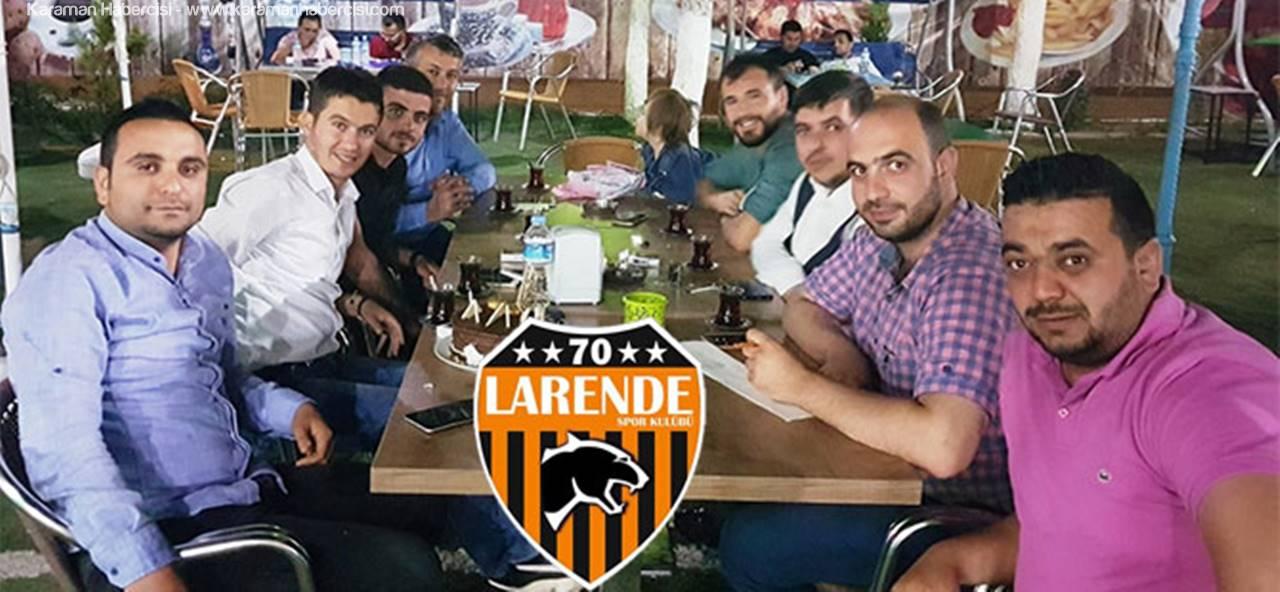 70 Larende Spor Yönetimi'nde Yeni Görev Dağılımı Yapıldı