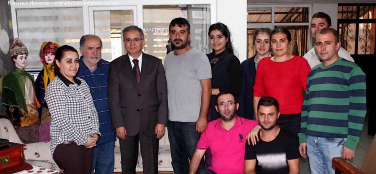 Karaman'da Yayın Yapan Gazete Radyo Televizyon'una Ziyaret