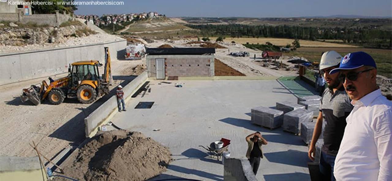 Bakan Elvan, Karaman'daki Çalışmaları İnceledi