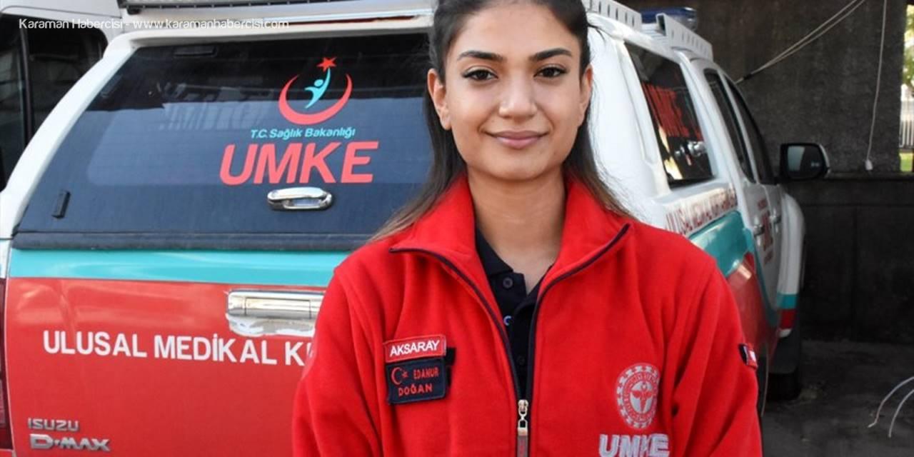 Umke Personeli Edanur, İzmir'deki Depremde İnci Okan'ı Kurtardığı Anı Unutamıyor