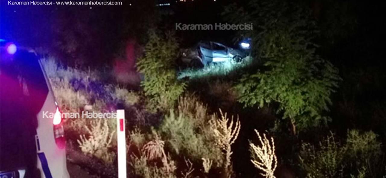 Karamanlı Aile Konya Dönüşü Kaza Yaptı
