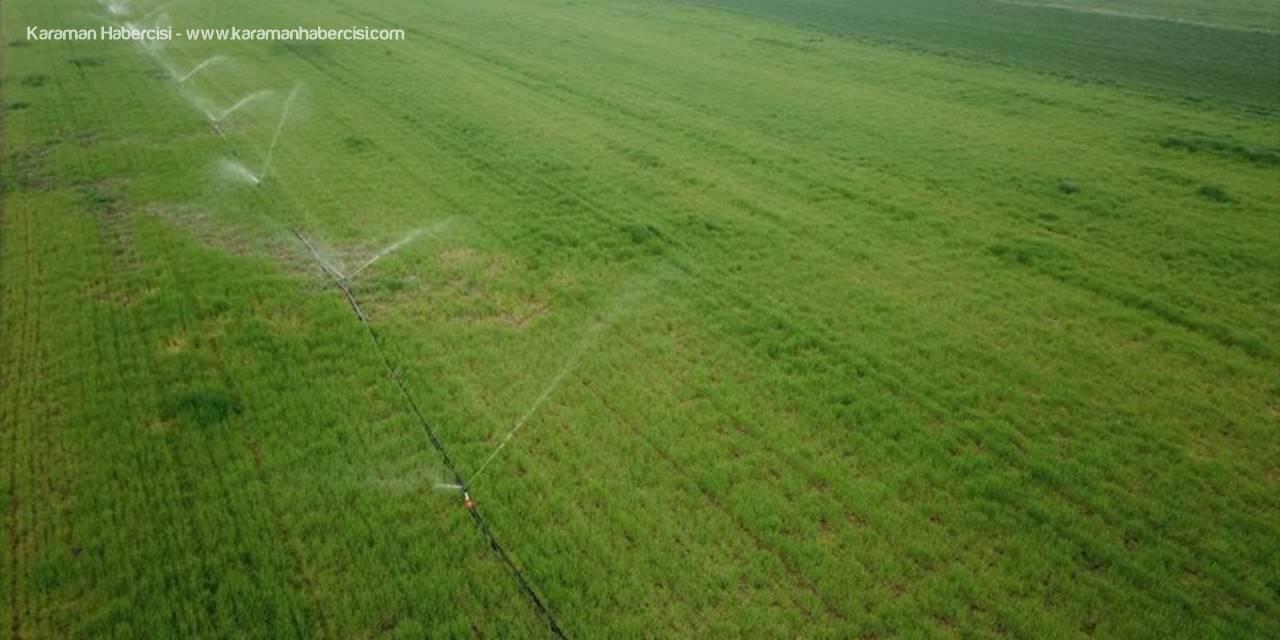 Eskişehir'de 2020 Yılında 325 Bin 500 Dekar Tarım Arazisi Sulandı