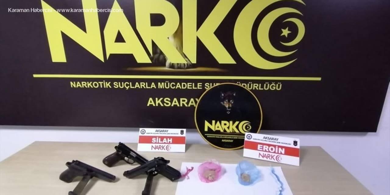 Aksaray'da Uyuşturucu Sattıkları İddiasıyla Yakalanan 4 Şüpheli Tutuklandı