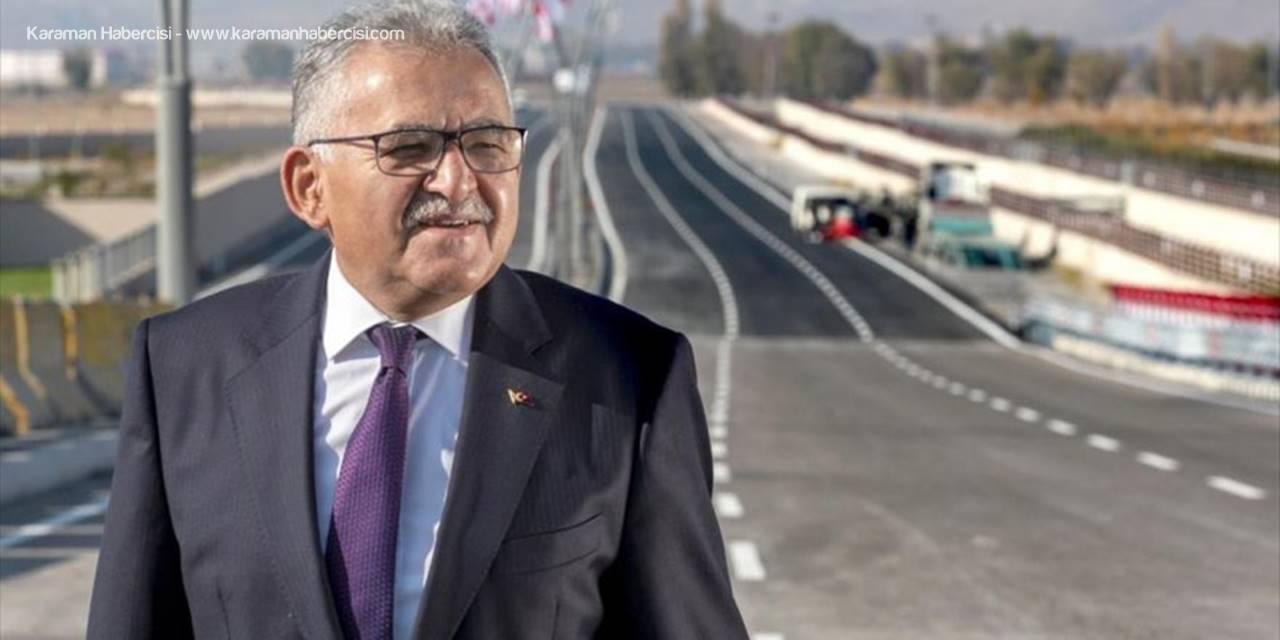 Kayseri Büyükşehir Belediyesinden 25 Milyon Liralık Yol Yatırımı