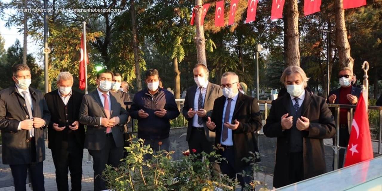Demircan, Şehit Ömer Halisdemir'in Kabrini Ziyaret Etti