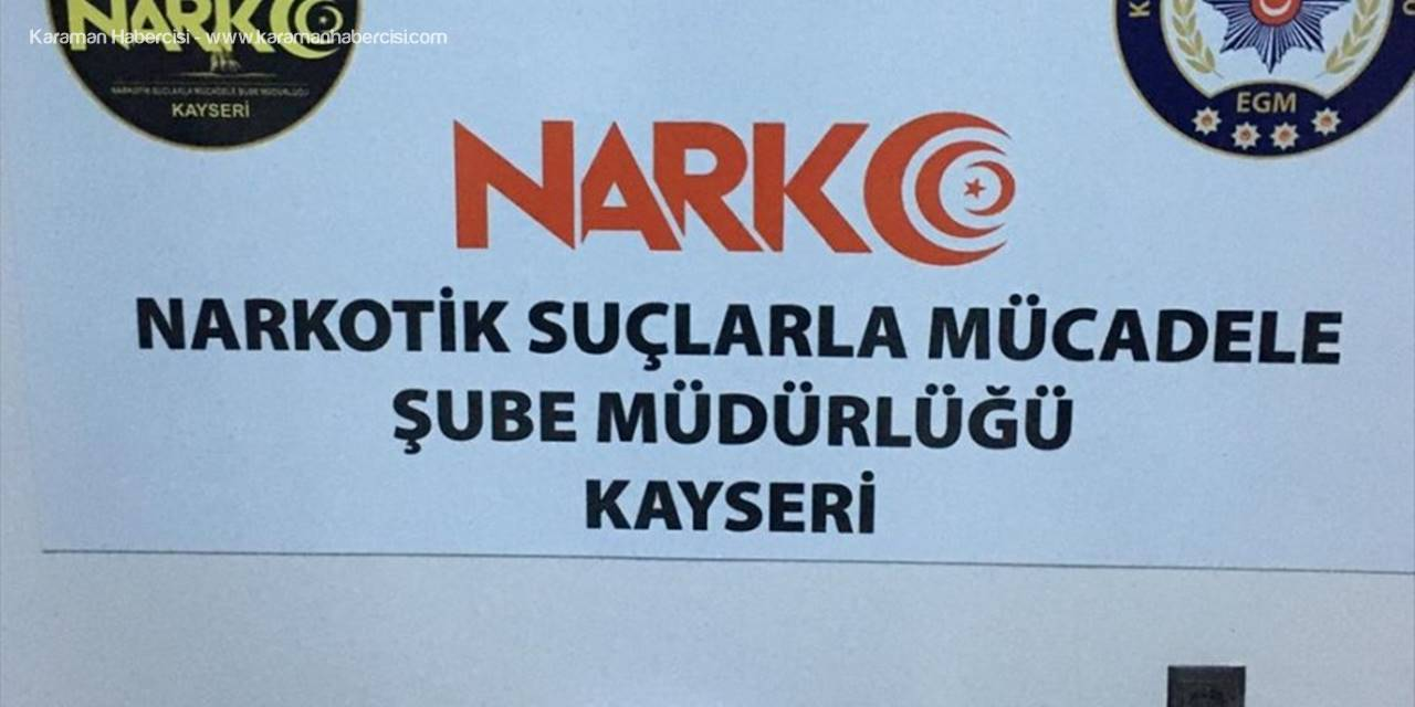 Kayseri'de Otomobilin Yakıt Deposunda Uyuşturucu Ele Geçirildi