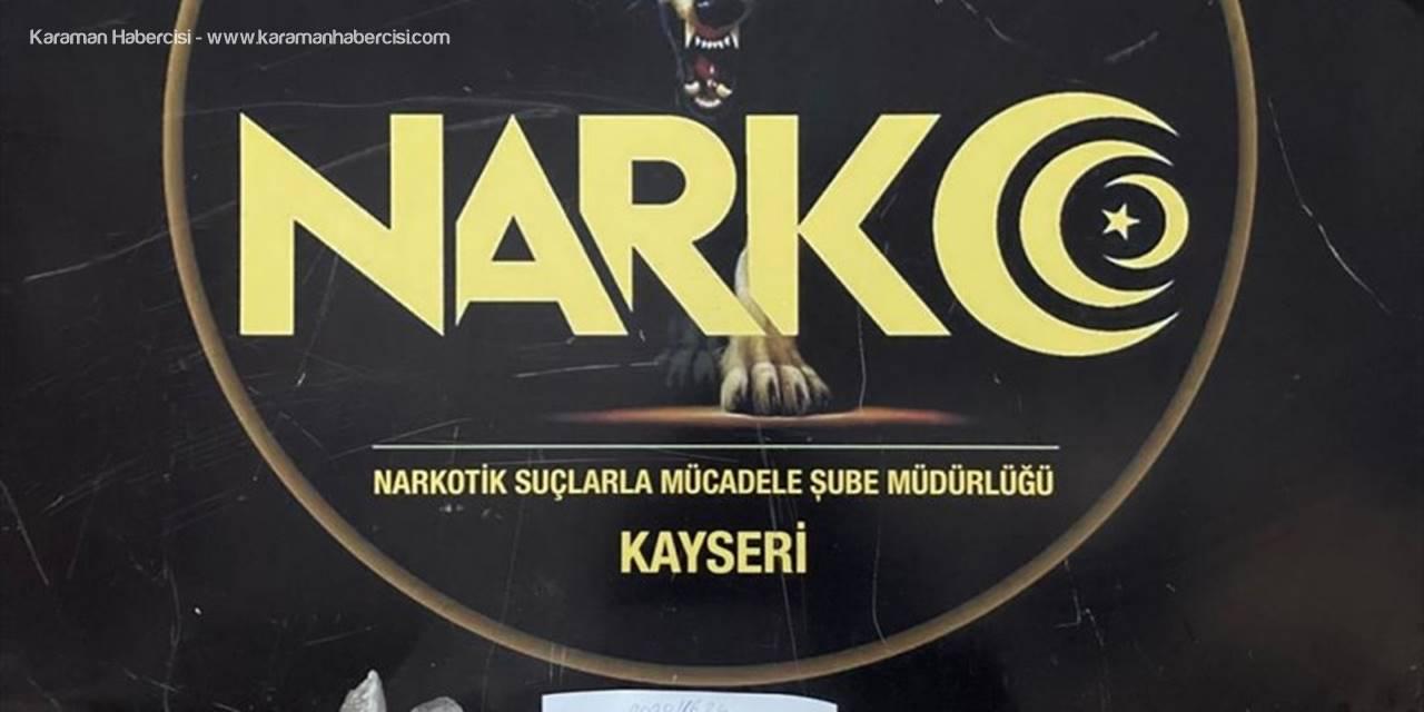 Kayseri'de Uyuşturucu Ticareti Yapan 3 Zanlı Yakalandı