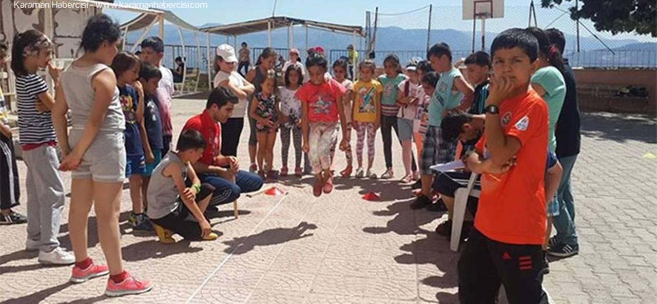 Ermenek'te Geleceğin Genç Atletleri